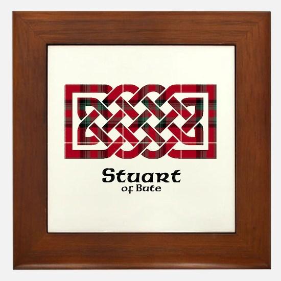 Knot-StuartBute Framed Tile