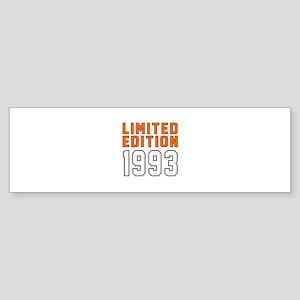 Limited Edition 1993 Sticker (Bumper)