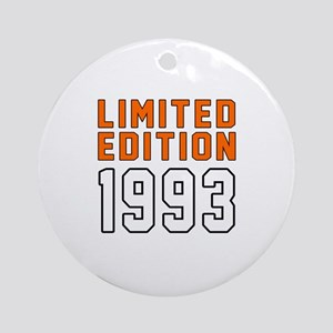 Limited Edition 1993 Round Ornament