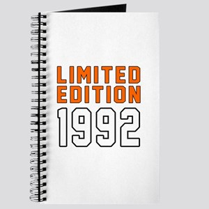 Limited Edition 1992 Journal