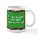 I Can Do All Things Through Christ Mugs