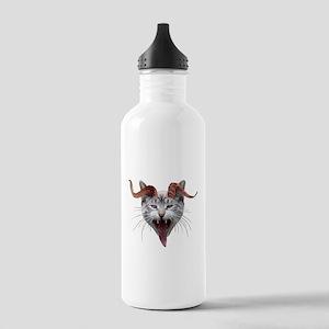 Krampus Cat Stainless Water Bottle 1.0L