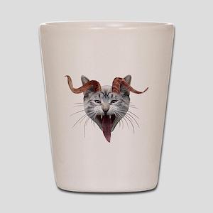 Krampus Cat Shot Glass