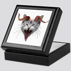 Krampus Cat Keepsake Box