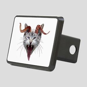 Krampus Cat Rectangular Hitch Cover
