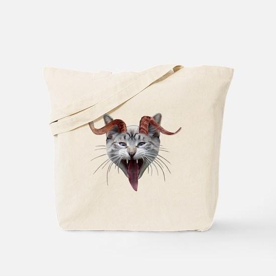 Krampus Cat Tote Bag