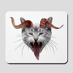 Krampus Cat Mousepad