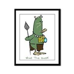 WTD: 3 of 4 Character Series Framed Panel Print