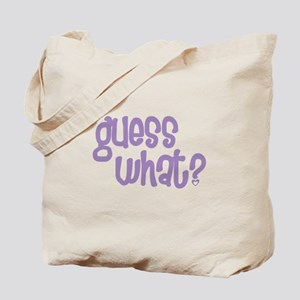 guess what big sister again Tote Bag
