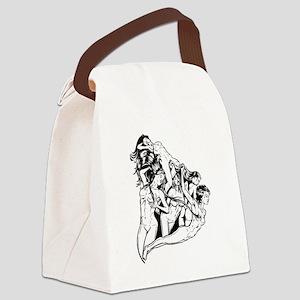 Girls Canvas Lunch Bag