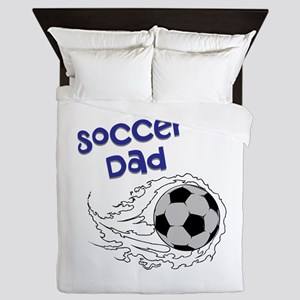 Soccer Dad Queen Duvet