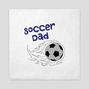Soccer Dad Queen Duvet