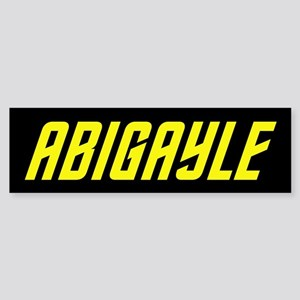 Star Trek Abigayle Sticker (Bumper)