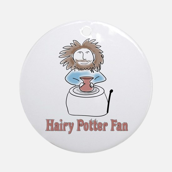 hairypottercolor.png Round Ornament