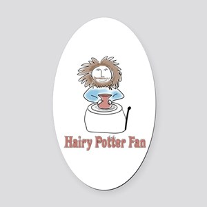 hairypottercolor Oval Car Magnet