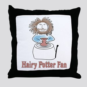 hairypottercolor Throw Pillow