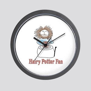 hairypottercolor Wall Clock