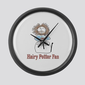 hairypottercolor Large Wall Clock