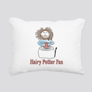 hairypottercolor Rectangular Canvas Pillow