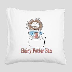 hairypottercolor Square Canvas Pillow