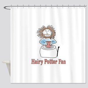 hairypottercolor Shower Curtain