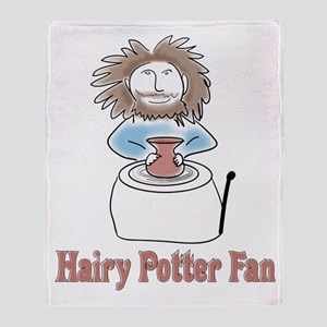 hairypottercolor Throw Blanket