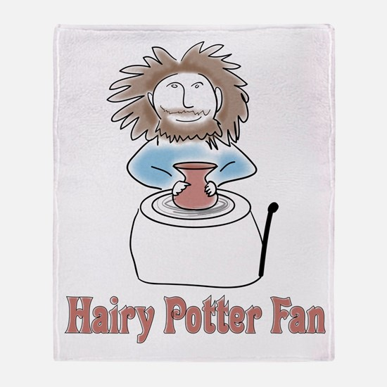 hairypottercolor.png Throw Blanket