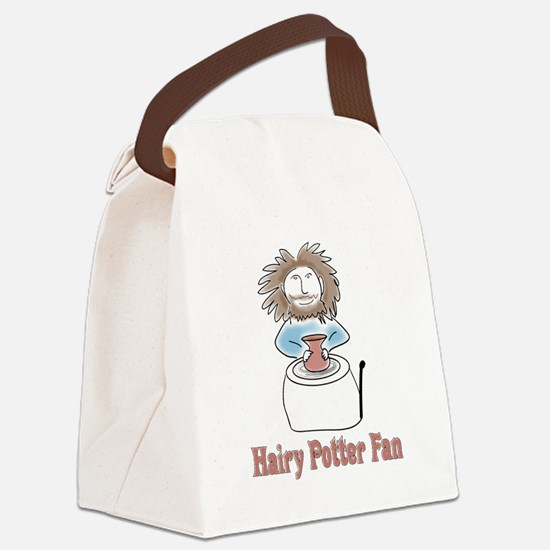 hairypottercolor.png Canvas Lunch Bag
