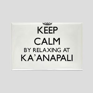 Keep calm by relaxing at Ka'Anapali Hawaii Magnets