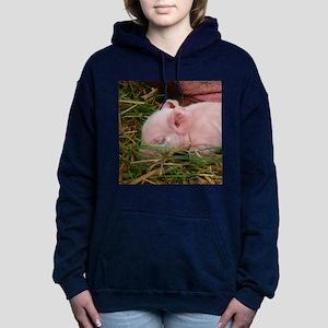 Sleeping Baby Women's Hooded Sweatshirt