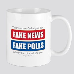 Fake News - Franklin Quote Mugs
