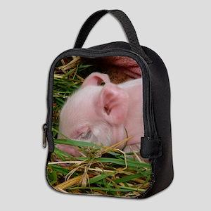 Sleeping Baby Neoprene Lunch Bag