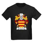 Ampurias Family Crest Kids Dark T-Shirt