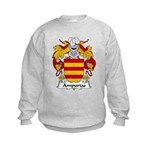 Ampurias Family Crest Kids Sweatshirt