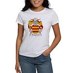 Ampurias Family Crest Women's T-Shirt