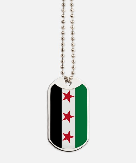Syrian National Coalition Flag Dog Tags