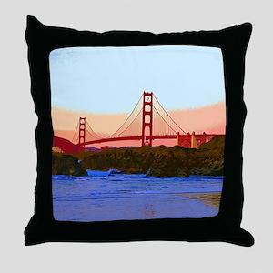 GoldenGateBridge20150821 Throw Pillow