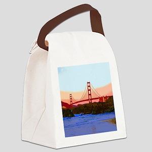 GoldenGateBridge20150821 Canvas Lunch Bag