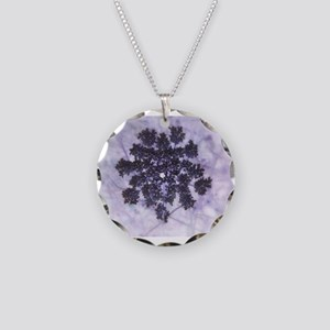 Deep Purple Lilacs Necklace