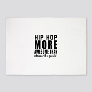 Hip Hop more awesome designs 5'x7'Area Rug