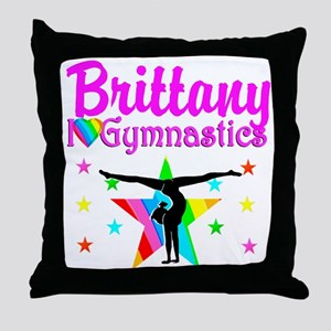 GREATEST GYMNAST Throw Pillow