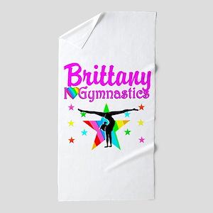 GREATEST GYMNAST Beach Towel