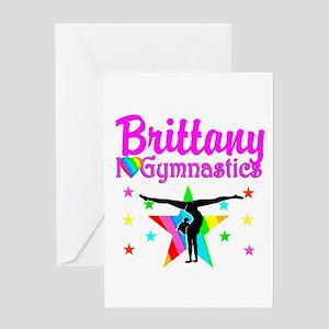 GREATEST GYMNAST Greeting Card
