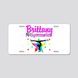 GREATEST GYMNAST Aluminum License Plate