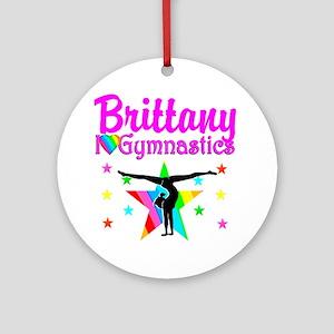 GREATEST GYMNAST Round Ornament