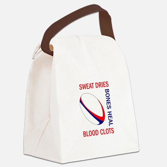 BLOOD CLOTS BONES HEAL Canvas Lunch Bag