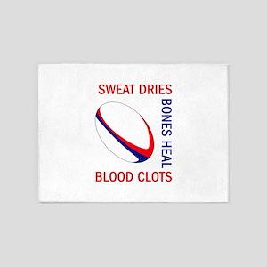 BLOOD CLOTS BONES HEAL 5'x7'Area Rug