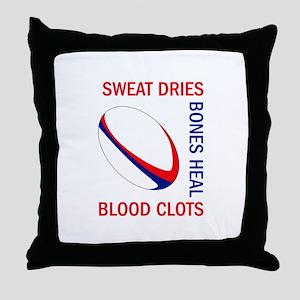 BLOOD CLOTS BONES HEAL Throw Pillow