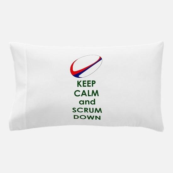 KEEP CALM SCRUM DOWN Pillow Case