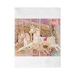 Merry-go-round pink Twin Duvet